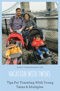 Vacation with twins :Tips For Traveling With Young Twins and Multiples