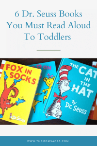 Dr. Seuss books for toddlers