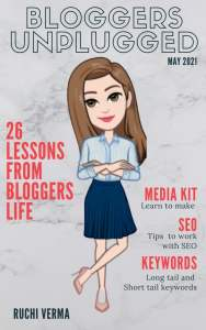 Book Review : Bloggers Unplugged by Ruchie Verma