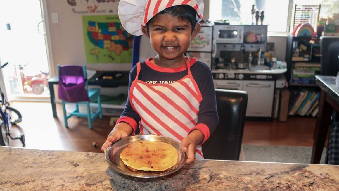 Cooking with kids-Guest Post by Ravali Chalasani