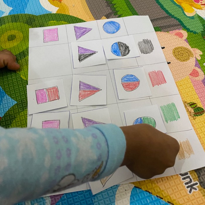 Logical thinking activities for Preschoolers (3 to 4 years)
