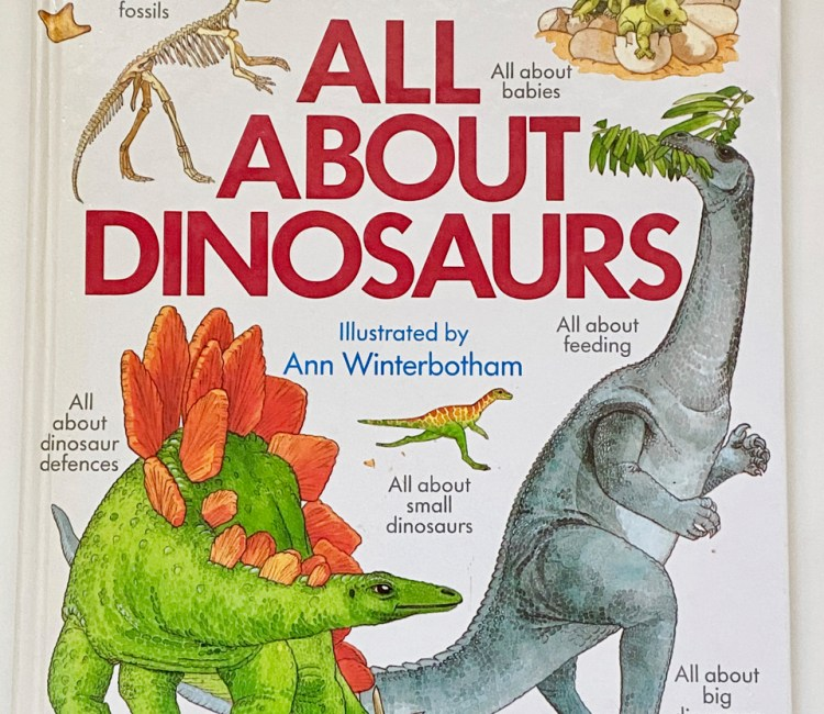 Dinosaurs book for kids