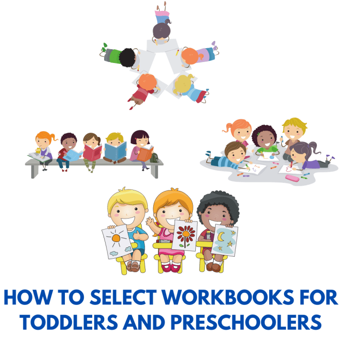 How to select activity workbooks for toddlers and preschoolers