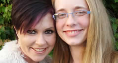 Kristi and Alexandria Corley