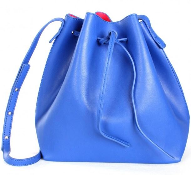 """Bucket Handbags - """"blue&pink bucket tote"""" ($38.99) - sophieandtrey.com"""