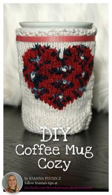 DIY Coffee Mug Cozy