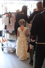 Backstage view of Olvi's for the Little Lady(Photo by Antonia Martinelli/ TheMomtropolis)