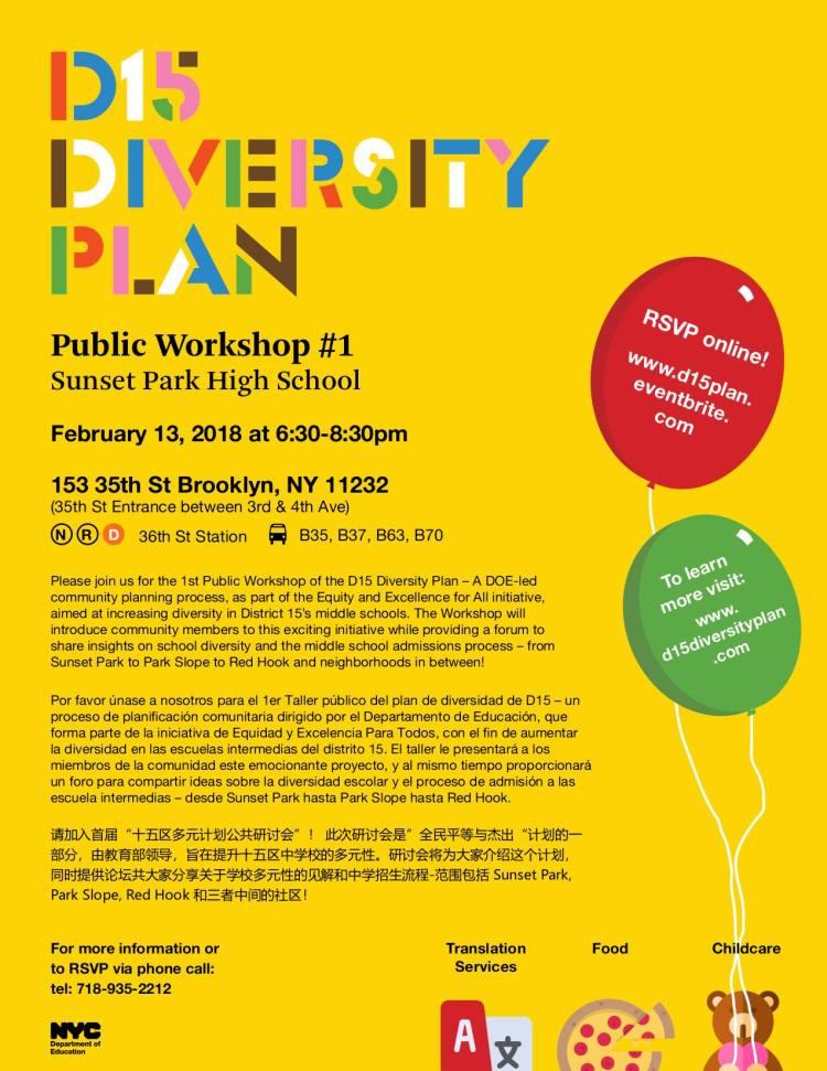 D15 Diversity Plan