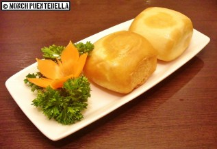 Crispy Mantou Bread with Condensed Milk (P78): A restaurant favorite, fried mantou bread served with condensed milk.