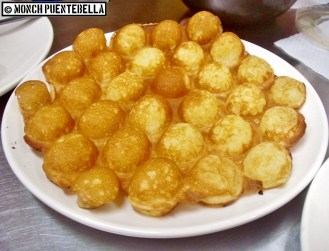 Hong Kong Pancake Balls (P65): CJ's favorite, and a good substitute for rice.