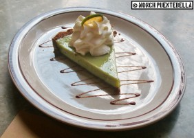 Reminds me a bit of the Key Lime Pie from Pi Breakfast and Pies (I featured the latter previously).