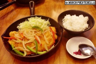 Dory Katsu (P285): This reminds me of Yabu's fish katsu taste-wise. Good move to add bell peppers and onions for some color!