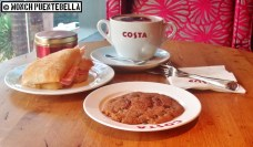 This was from my first trip at Costa Coffee, with CJ in tow.