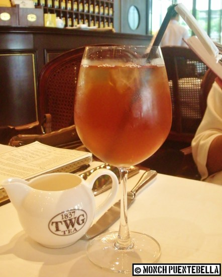 Iced Moroccan Mint Tea (P195): A refreshing combination of green tea and mint, with the latter's flavor dominating. Perfect for hot days.