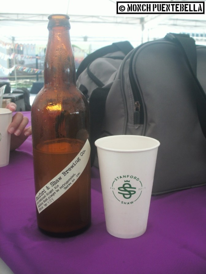 Freshly brewed ginger ale from Stanford and Shaw Brewing (these guys are also mainstays at the Katipunan Weekend Market.)