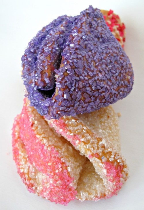 Rose Bud Butter Cookies
