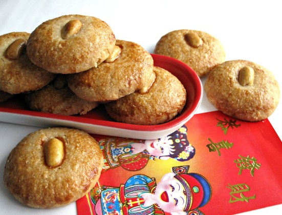 Chinese New Year Peanut Cookies (花生饼) |The Monday Box