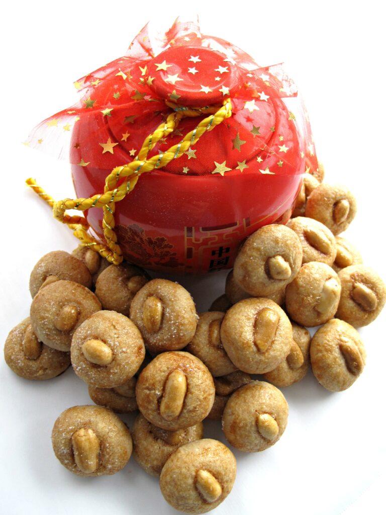 Chinese New Year Peanut Cookies (花生饼)