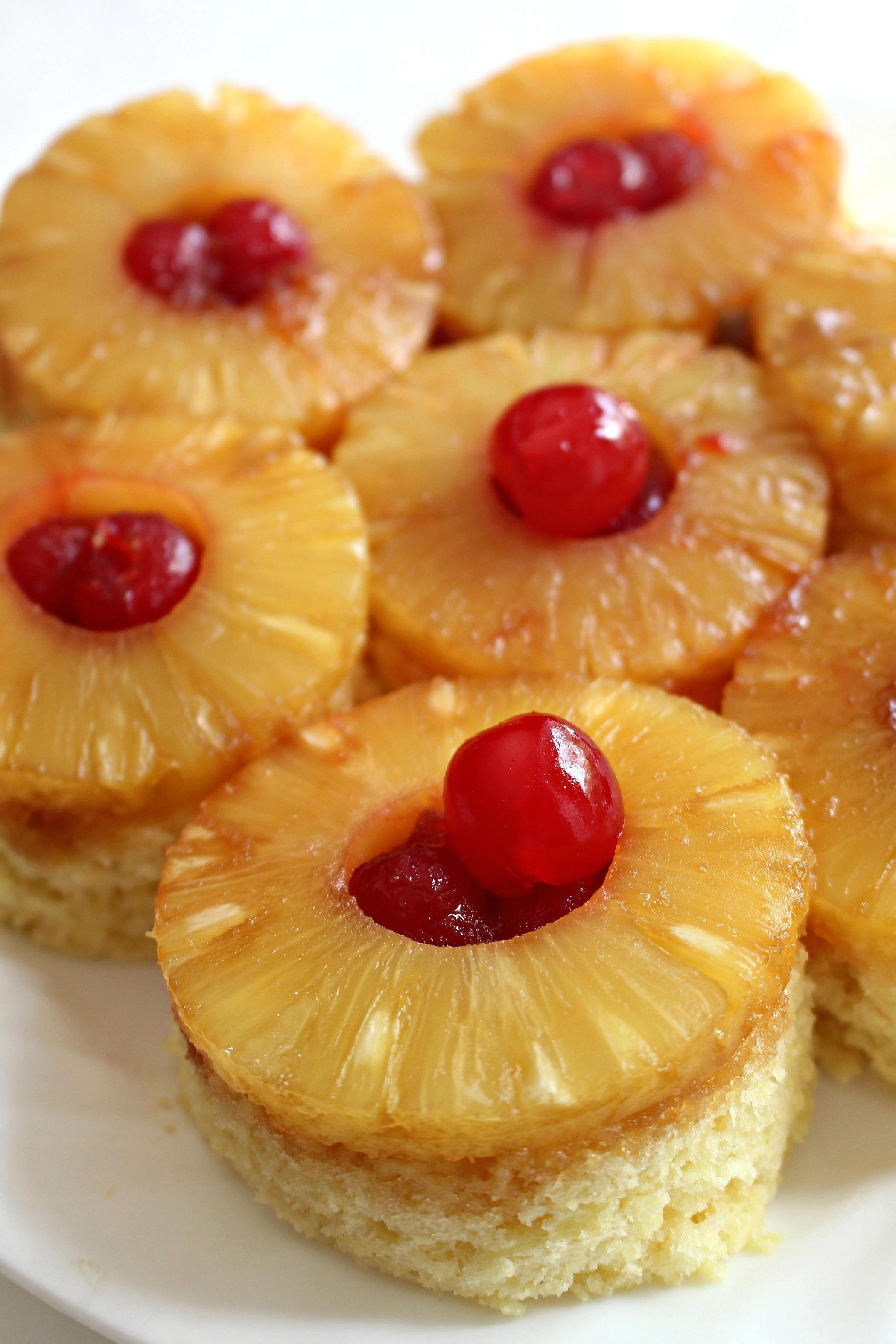 Quick Pineapple Upside Down Cake