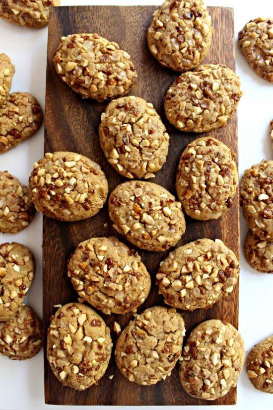 Toffee Peanut Cookies