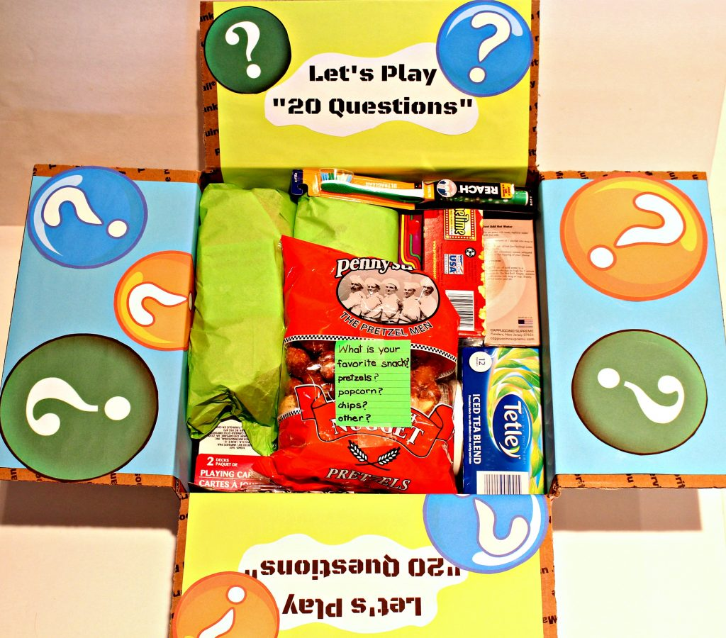 20 Questions Care Package
