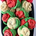 Sugar Cookie Roses (Time Saver Recipe)