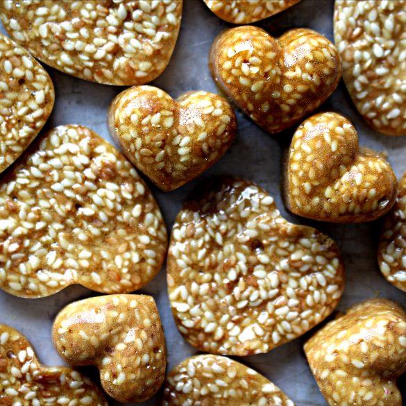 Honey Sesame Brittle