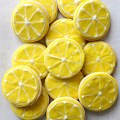 Lemon Sugar Cookie Lemon Slices