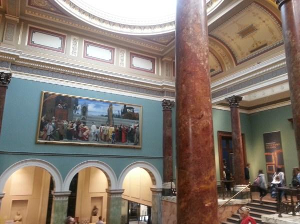Canaletto Claude Turner National London -mondi