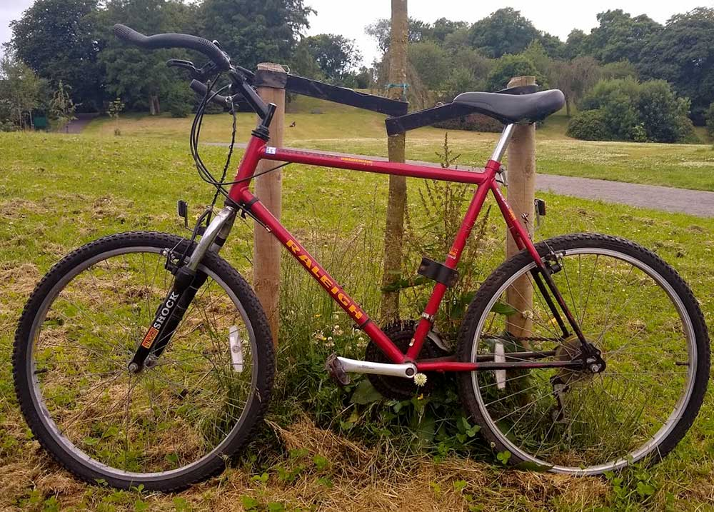Selling a Raleigh Activator 90s Mountain Bike