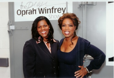 Lynnette and Oprah photo