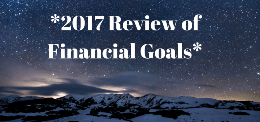 2017 Review of Financial Goals