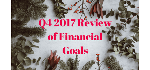 Q4 2017 Review of Financial Goals