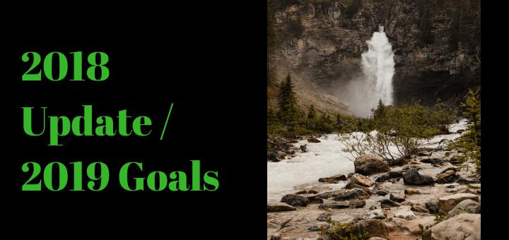 2018 Update 2019 Goals