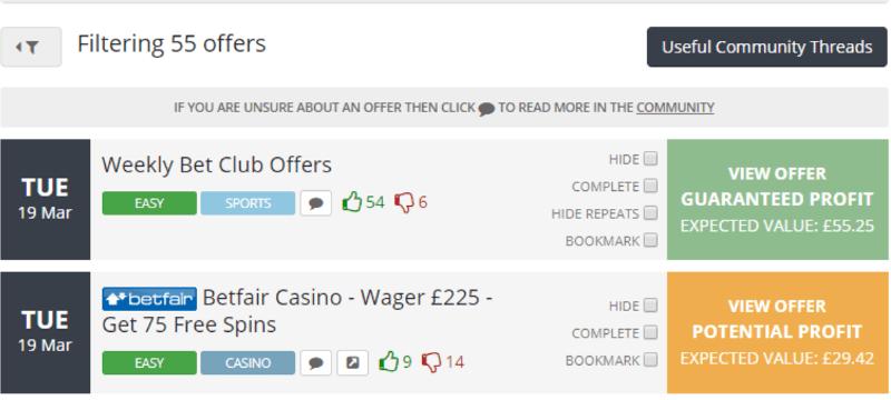 Oddsmonkey matched betting us casino betting