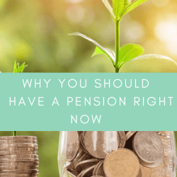 why you shold have a pension right now