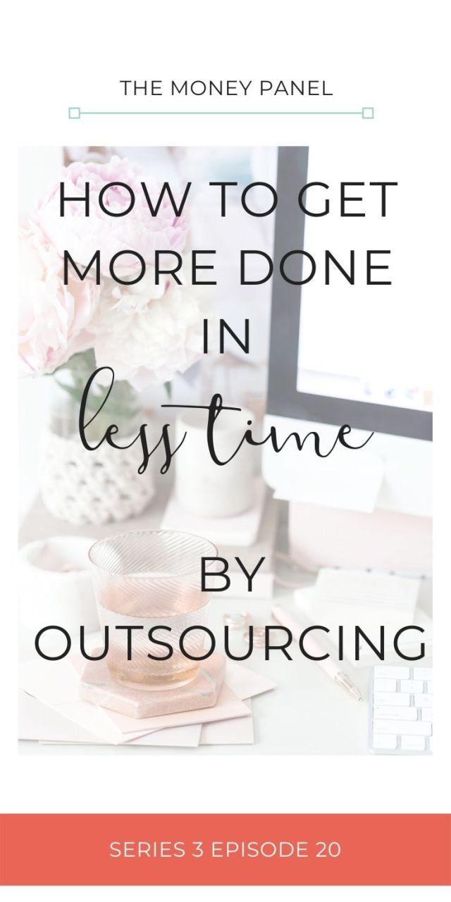 How to get more done in less time in your small business by outsourcing to a virtual assistant