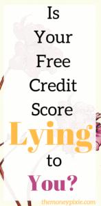 Free credit score online