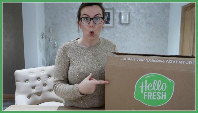 HelloFresh family box | cooking subscription box