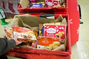 christmas treats for food bank