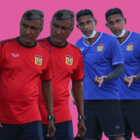 V Sundram Moorthy is now technical director of Laos, V Selvaraj is the new national head coach.
