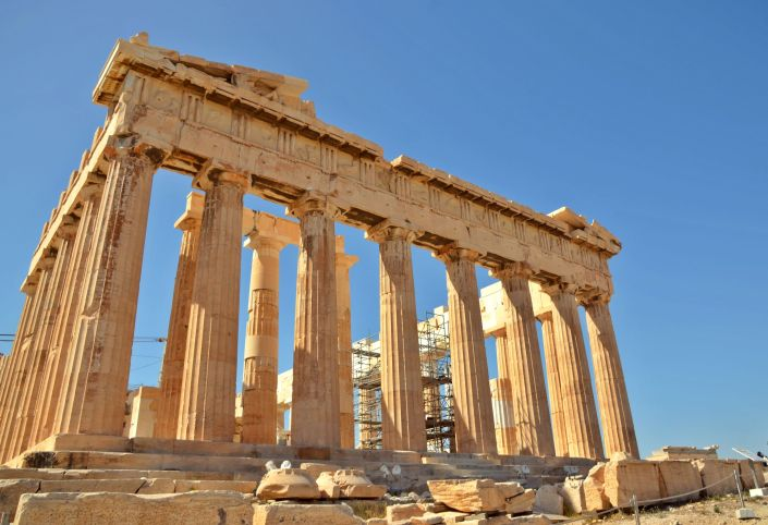 Athens – the city of gods and heroes