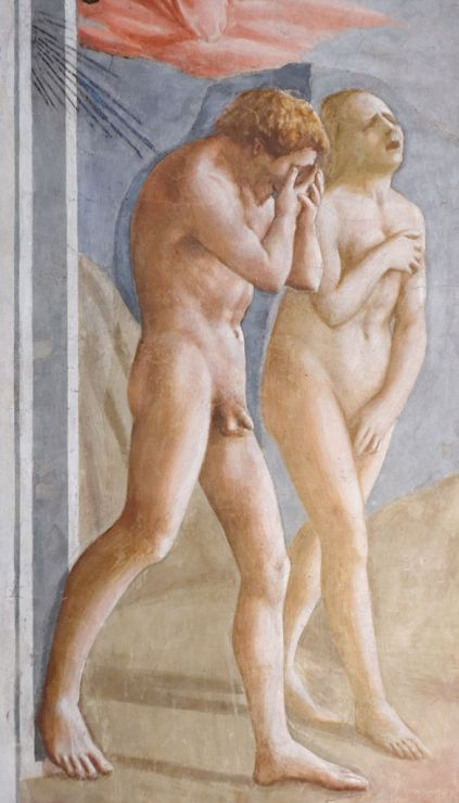 585px-Expulsion_from_the_Garden_of_Eden_Masaccio_Cappella_Brancacci