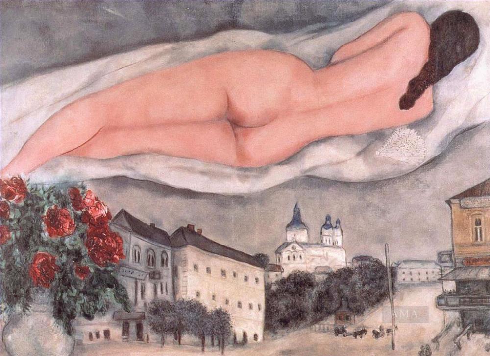 Chagall-Nude-over-Vitebsk 1933