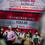 Global stocks mixed as weak China data temper rising oil price