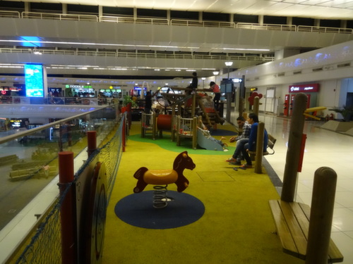 Delhi airport play area