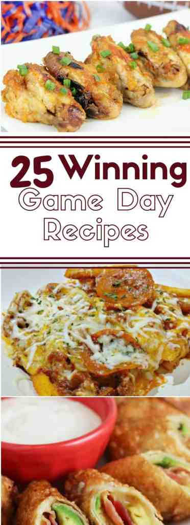 25 Winning Game Day Snack Recipes