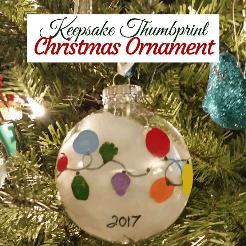 keepsake thumbprint christmas ornament