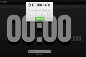 Marinara Kitchen Timer 1