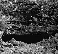 Bell Witch Cave Gate